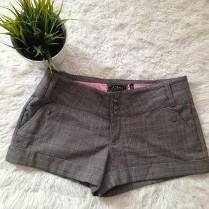 GUESS Plaid Shorts